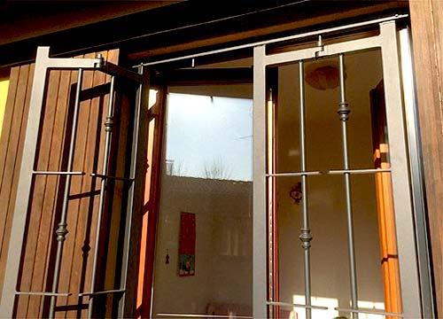 Foto cancelli di sicurezza | Lavoro realizzato a Biella