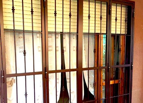 Foto cancelli di sicurezza   Lavoro realizzato a Lecco