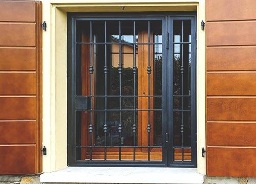Foto cancelli di sicurezza   Lavoro realizzato a Lodi