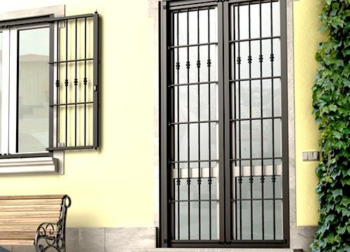 Foto cancelli di sicurezza   Lavoro realizzato a Monza