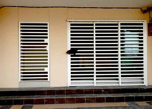 Foto cancelli di sicurezza | Lavoro realizzato a Vercelli