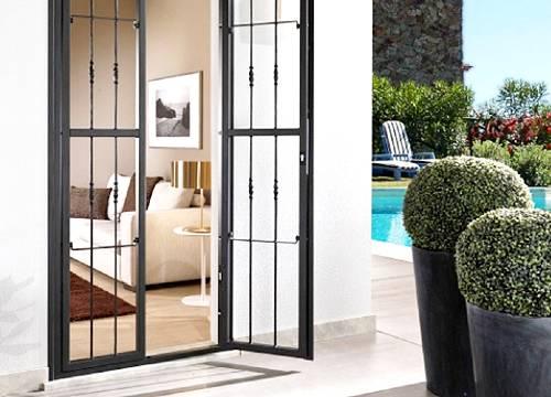 Cancello di sicurezza per appartamento in provincia di Bergamo
