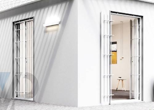 Cancello di sicurezza per appartamento in provincia di Milano