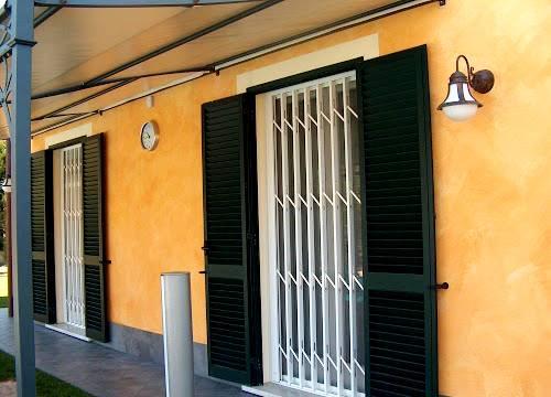 Grate di sicurezza per appartamento in provincia di Asti