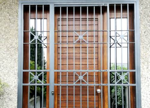 Grate di sicurezza per appartamento in provincia di Cuneo