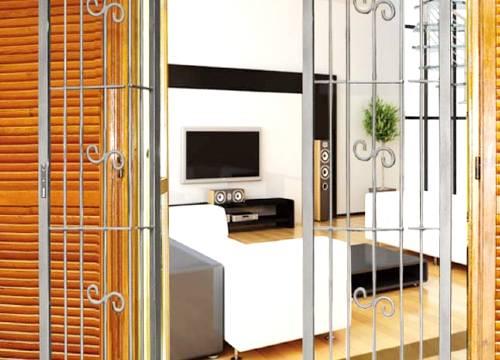 Grate di sicurezza per appartamento in provincia di Monza