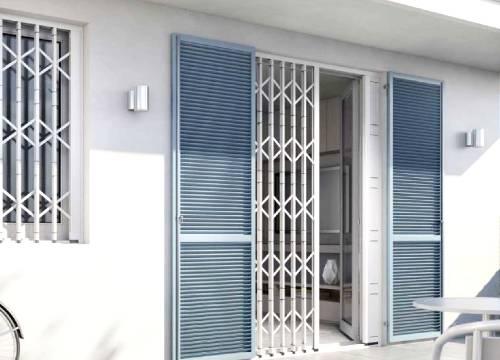 Grate di sicurezza per appartamento in provincia di Sondrio