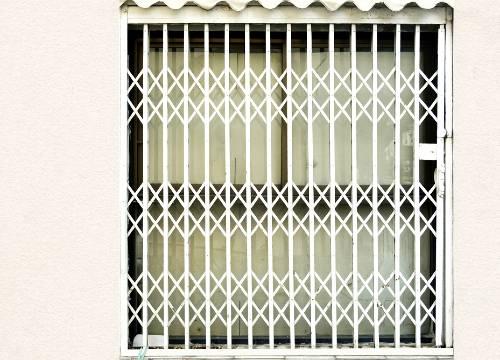 Foto grate di sicurezza scorrevoli   Lavoro realizzato a Lodi