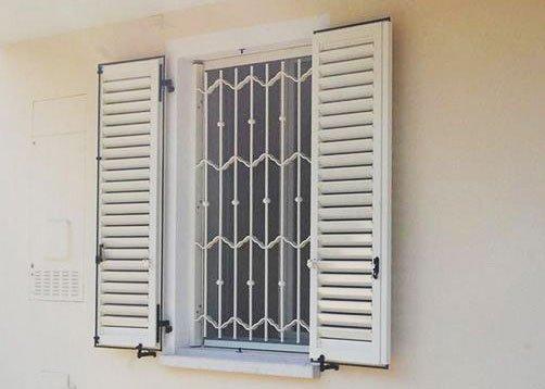 Inferriate di sicurezza per appartamento in provincia di Alessandria