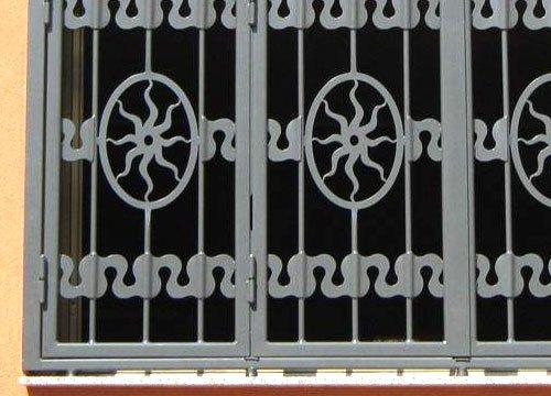 Inferriate di sicurezza per appartamento in provincia di Biella