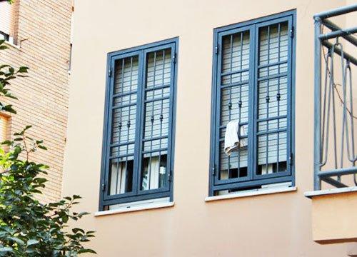 Inferriate di sicurezza per appartamento in provincia di Brescia