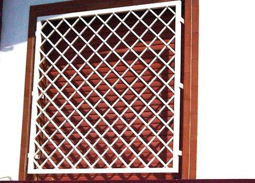 Inferriate di sicurezza per appartamento in provincia di Vercelli