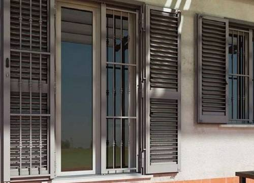 Foto persiane blindate scorrevoli   Lavoro realizzato a Como