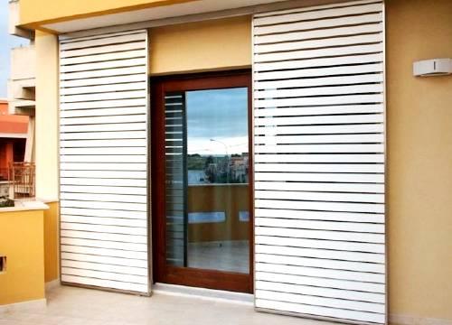 Foto persiane blindate scorrevoli   Lavoro realizzato a Varese