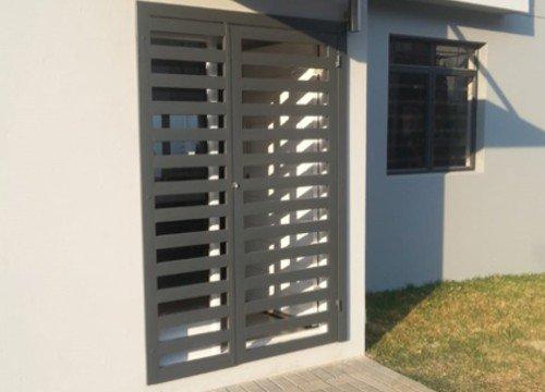 Cancello di sicurezza per appartamento in provincia di Lodi