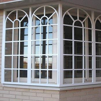 grate moderne in stile inglese per finestre